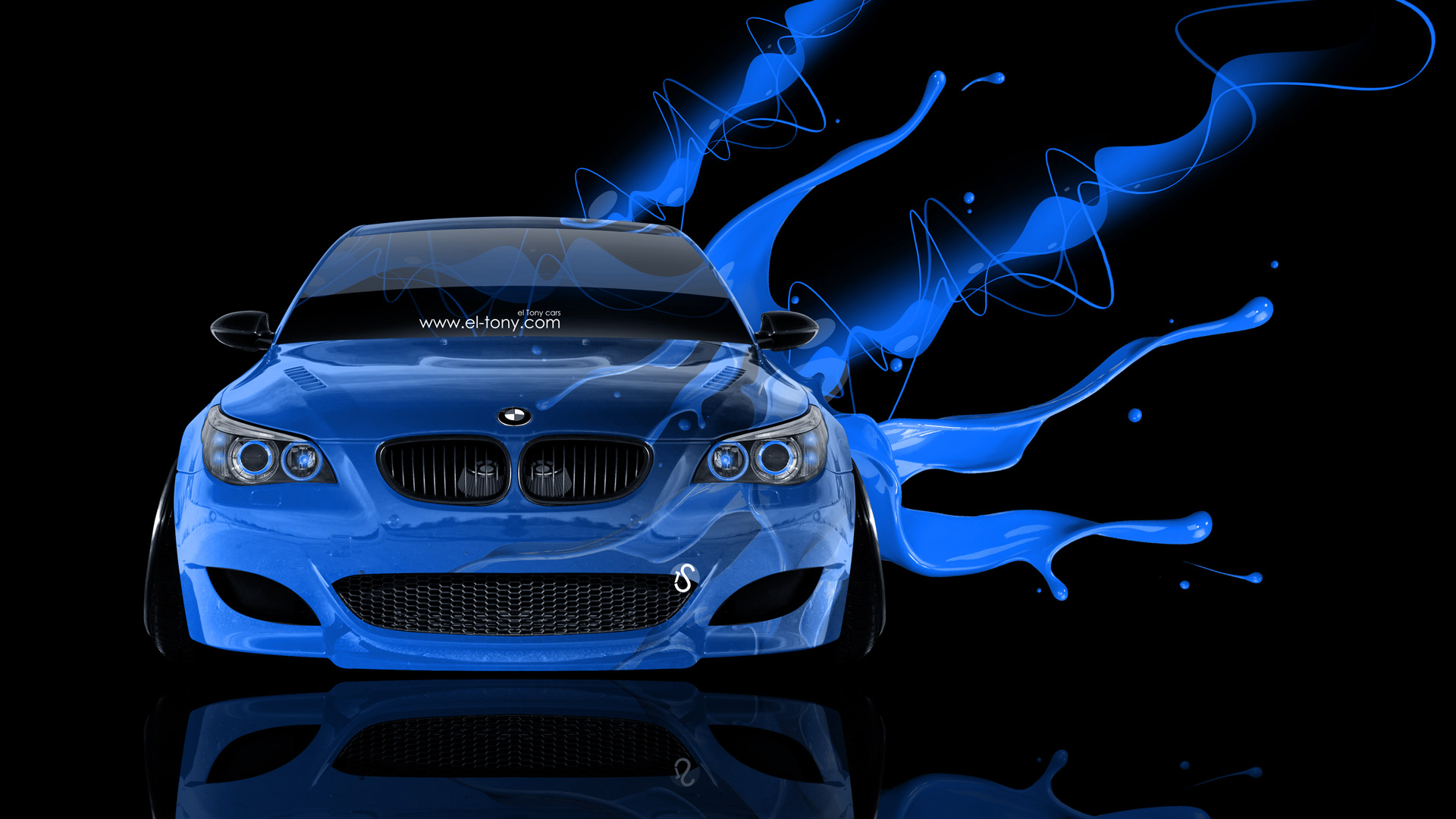Bmw M5 Front Live Colors Car 2014 El Tony