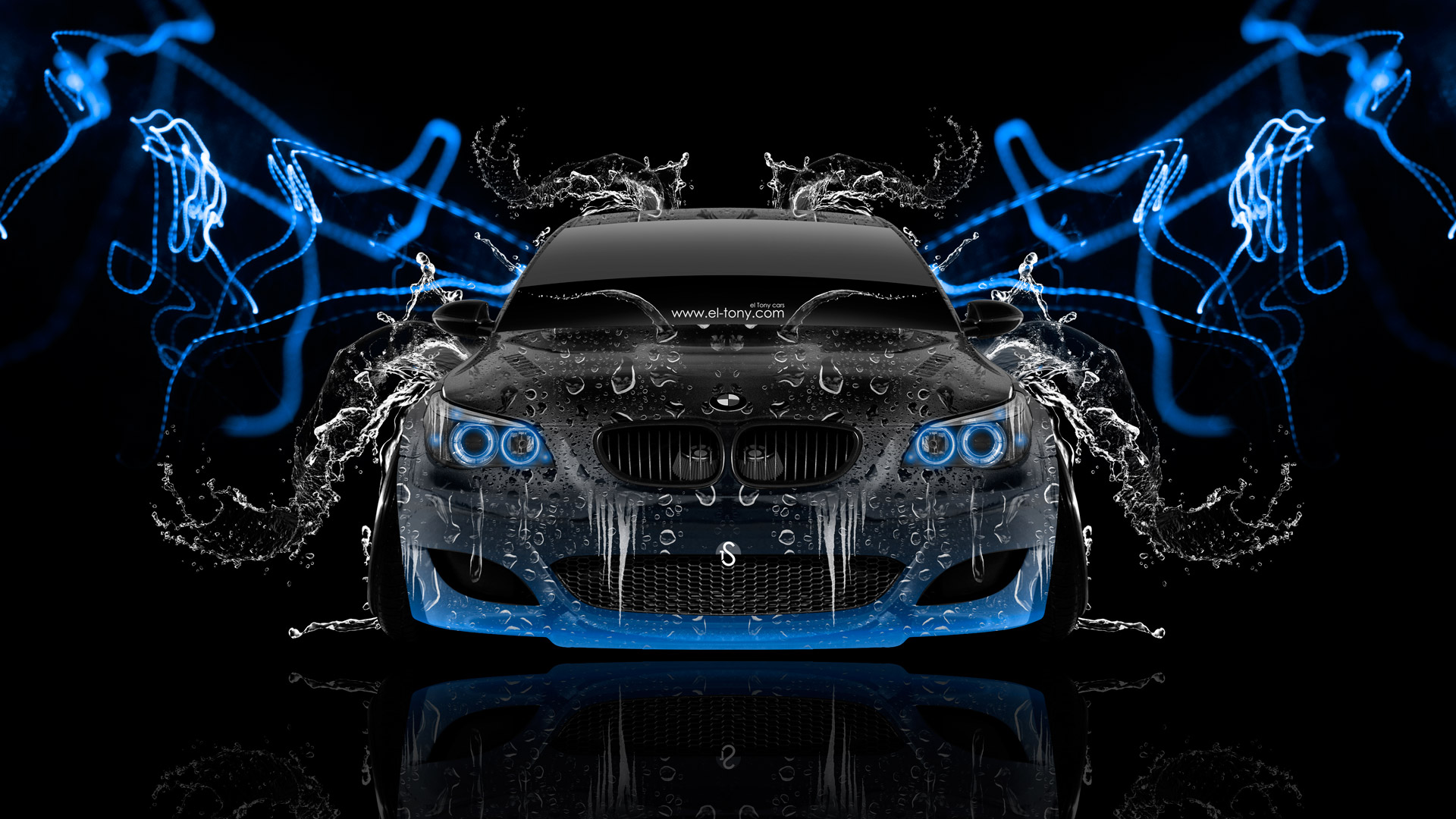 BMW-M5-Front-Super-Water-Abstract-Car-2014-Blue-Neon-HD-Wallpapers ...