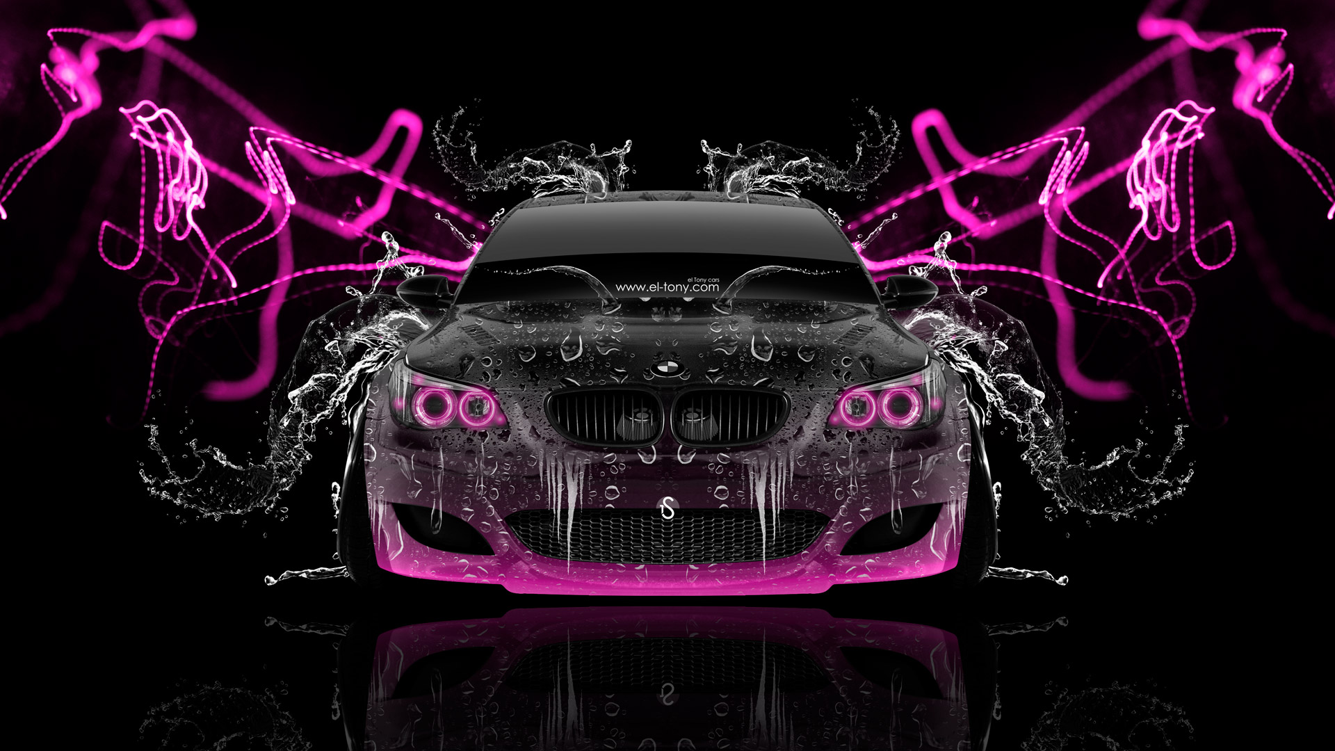 Delicieux ... BMW M5 Front Super Water Abstract Car 2014  ...