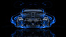 BMW-M6-Front-Blue-Fire-Abstract-Car-2014-Photoshop-HD-Wallpapers-design-by-Tony-Kokhan-[www.el-tony.com]