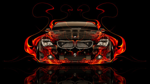 BMW-M6-Front-Fire-Abstract-Car-2014-Photoshop-HD-Wallpapers-design-by-Tony-Kokhan-[www.el-tony.com]