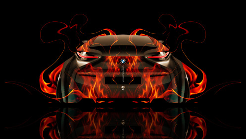 BMW-i8-Back-Fire-Abstract-Car-2014-Photoshop-HD-Wallpapers-design-by-Tony-Kokhan-[www.el-tony.com]