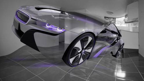 BMW-i8-Fantasy-Fly-Crystal-Car-Plastic-Home-Style-2014-Violet-Neon-HD-Wallpapers-design-by-Tony-Kokhan-[www.el-tony.com]