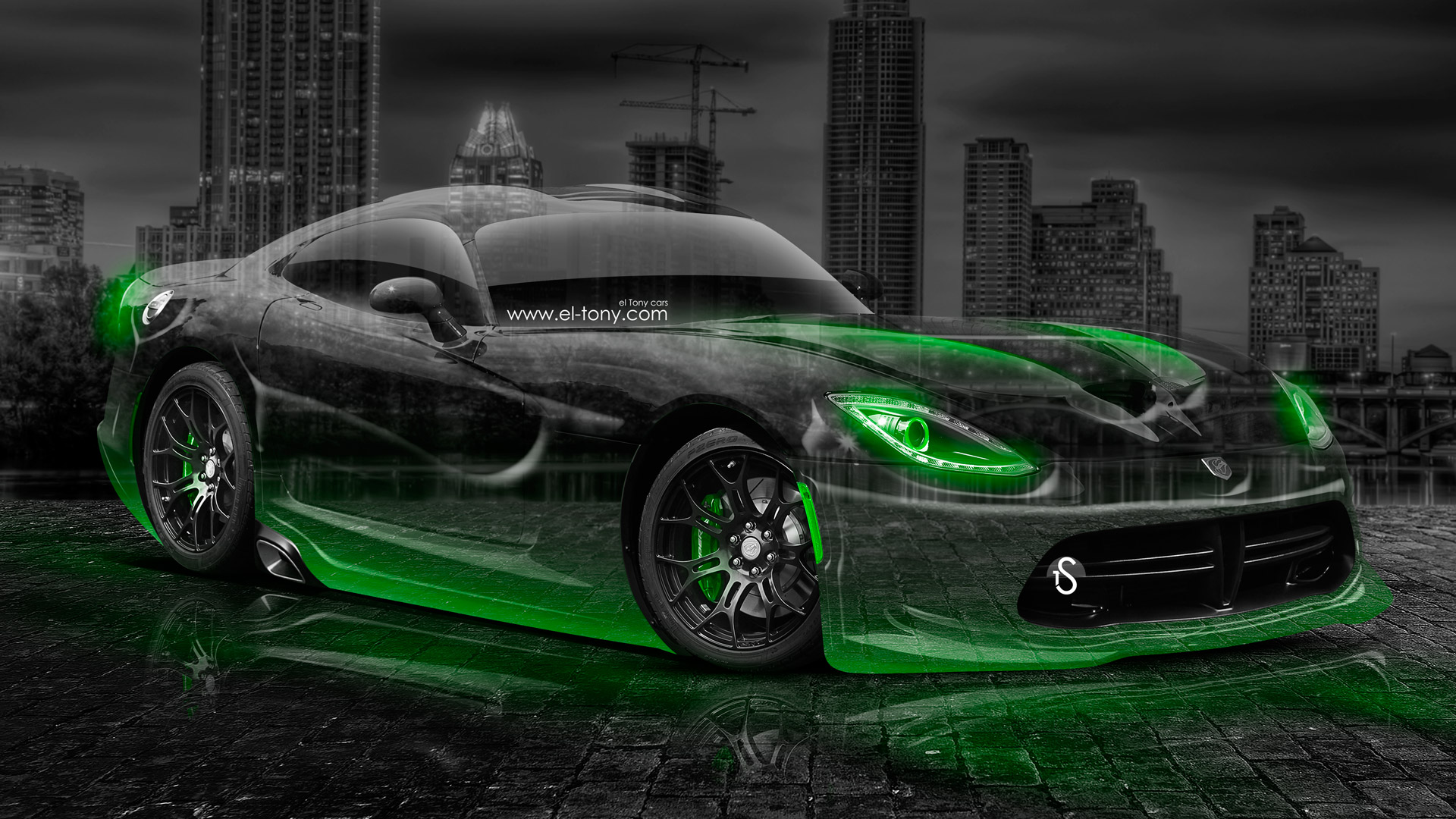 Dodge Viper Srt Crystal City Car 2014 El Tony