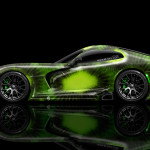 Dodge Viper Side Kiwi Aerography Car 2014