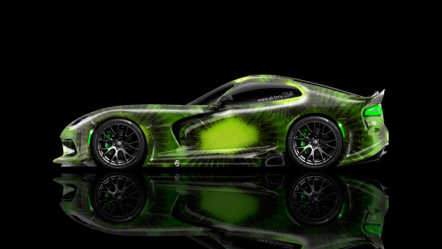 Dodge-Viper-Side-Kiwi-Aerography-Car-2014-Photoshop-HD-Wallpapers-design-by-Tony-Kokhan-[www.el-tony.com]