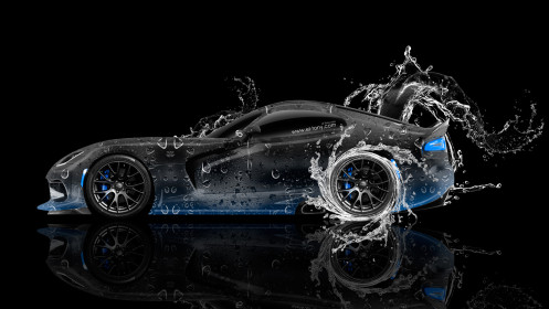 Dodge-Viper-Side-Water-Car-2014-Blue-Neon-Photoshop-HD-Wallpapers-design-by-Tony-Kokhan-[www.el-tony.com]