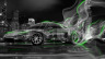 Honda-NSX-JDM-Crystal-City-Plastic-Smoke-Drift-Car-2014-Green-Neon-HD-Wallpapers-design-by-Tony-Kokhan-[www.el-tony.com]