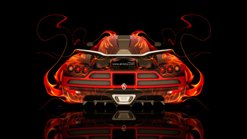 Koenigsegg-CCXR-BackUp-Fire-Abstract-Car-2014-Photoshop-HD-Wallpapers-design-by-Tony-Kokhan-[www.el-tony.com]
