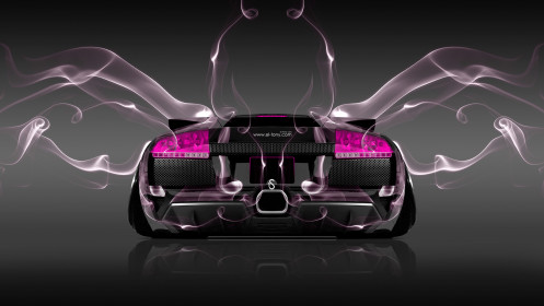 Lamborghini-Murcielago-Back-Pink-Smoke-Car-2014-Photoshop-HD-Wallpapers-design-by-Tony-Kokhan-[www.el-tony.com]