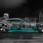 Mercedes-Benz Vision Gran Turismo Crystal City Car 2014