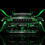 Monster Energy Jeep Grand Cherokee SRT8 Front Plastic Car 2014