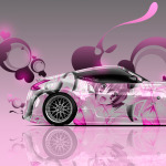 Nissan 370Z JDM Side Anime Aerography Car 2014