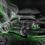 Nissan Cedric JDM Crystal City Smoke Drift Car 2014