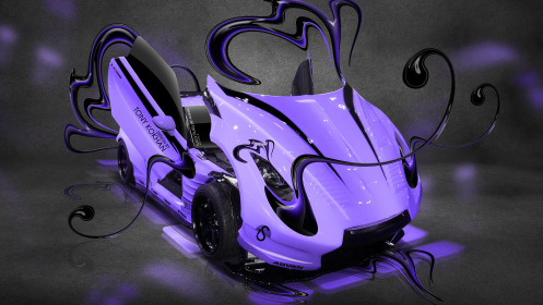 Nissan-GTR-R35-Open-Style-Plastic-Car-2014-Violet-Colors-HD-Wallpapers-design-by-Tony-Kokhan-[www.el-tony.com]
