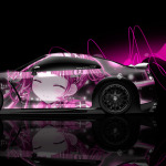 Nissan GTR R35 Side Anime Aerography Car 2014