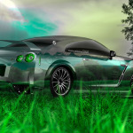 Nissan GTR R35 Tuning Crystal Nature Car 2014