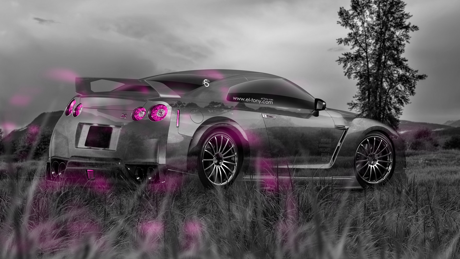 Nissan GTR R35 Tuning Crystal Nature Car 2014 .