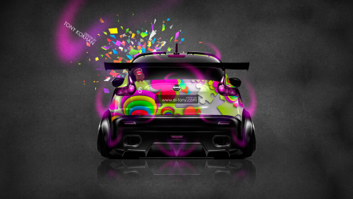 Nissan-Juke-R-JDM-Back-Domo-Kun-Toy-Car-2014-Multicolors-HD-Wallpapers-design-by-Tony-Kokhan-[www.el-tony.com]