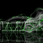 Nissan Silvia S13 JDM Side Smoke Drift Car 2014