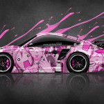 Porsche 911 GT2 Anime Aerography Live Colors Car 2014