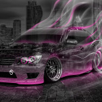 Toyota Altezza JDM Crystal City Smoke Drift Car 2014