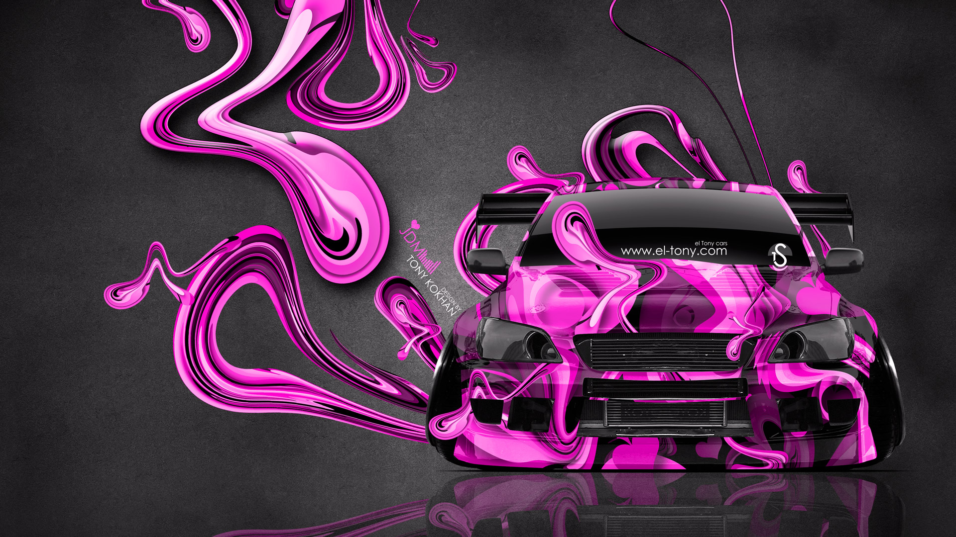 Beautiful ... Toyota Altezza JDM Tuning Front Super Plastic Abstract  ... Gallery