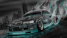 Toyota-Chaser-JZX100-Crystal-City-Smoke-Drift-Car-2014-Azure-Neon-HD-Wallpapers-design-by-Tony-Kokhan-[www.el-tony.com]