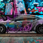 Toyota GT86 JDM Side Crystal Graffiti Car 2014