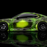 Toyota GT86 JDM Side Kiwi Aerography Car 2014
