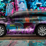 Toyota Land Cruiser 200 JDM Crystal Graffiti Car 2014