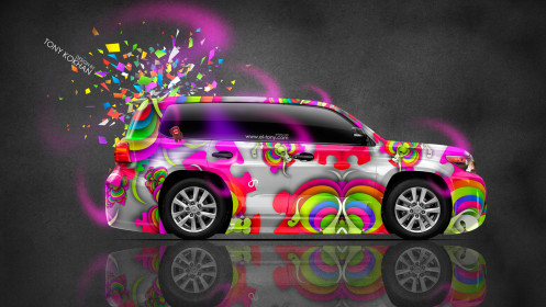 Toyota-Land-Cruiser-200-JDM-Side-Domo-Kun-Toy-Car-2014-Multicolors-HD-Wallpapers-design-by-Tony-Kokhan-[www.el-tony.com]