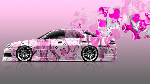 Toyota-Mark-2-JZX90-JDM-Anime-Aerography-Girl-Car-2014-Pink-Soft-Colors-HD-Wallpapers-design-by-Tony-Kokhan-[www.el-tony.com]