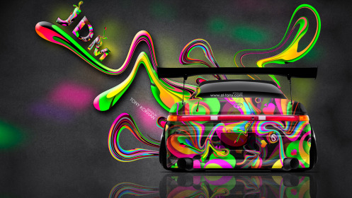 Toyota-Mark2-JZX90-JDM-Back-Super-Abstract-Plastic-Aerography-Car-2014-Art-Multicolors-HD-Wallpapers-design-by-Tony-Kokhan-[www.el-tony.com]