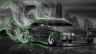Toyota-Soarer-JDM-Crystal-City-Smoke-Drift-Car-2014-Green-Neon-HD-Wallpapers-design-by-Tony-Kokhan-[www.el-tony.com]