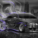 Toyota Soarer JDM Crystal City Smoke Drift Car 2014