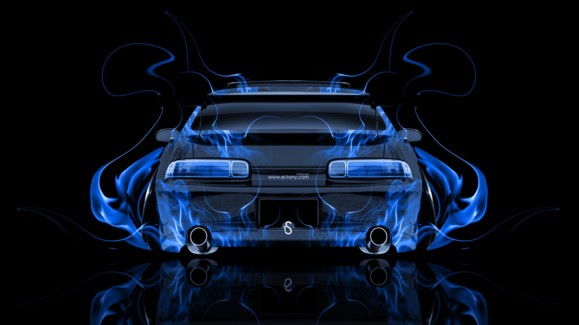 Lovely Wallpapers Toyota Soarer Jdm Tuning Back Fire Abstract Car 2014