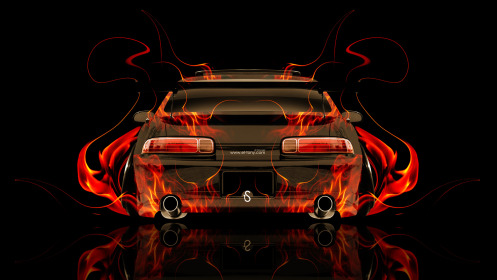 Toyota-Soarer-JDM-Tuning-Back-Fire-Abstract-Car-2014-HD-Wallpapers-design-by-Tony-Kokhan-[www.el-tony.com]