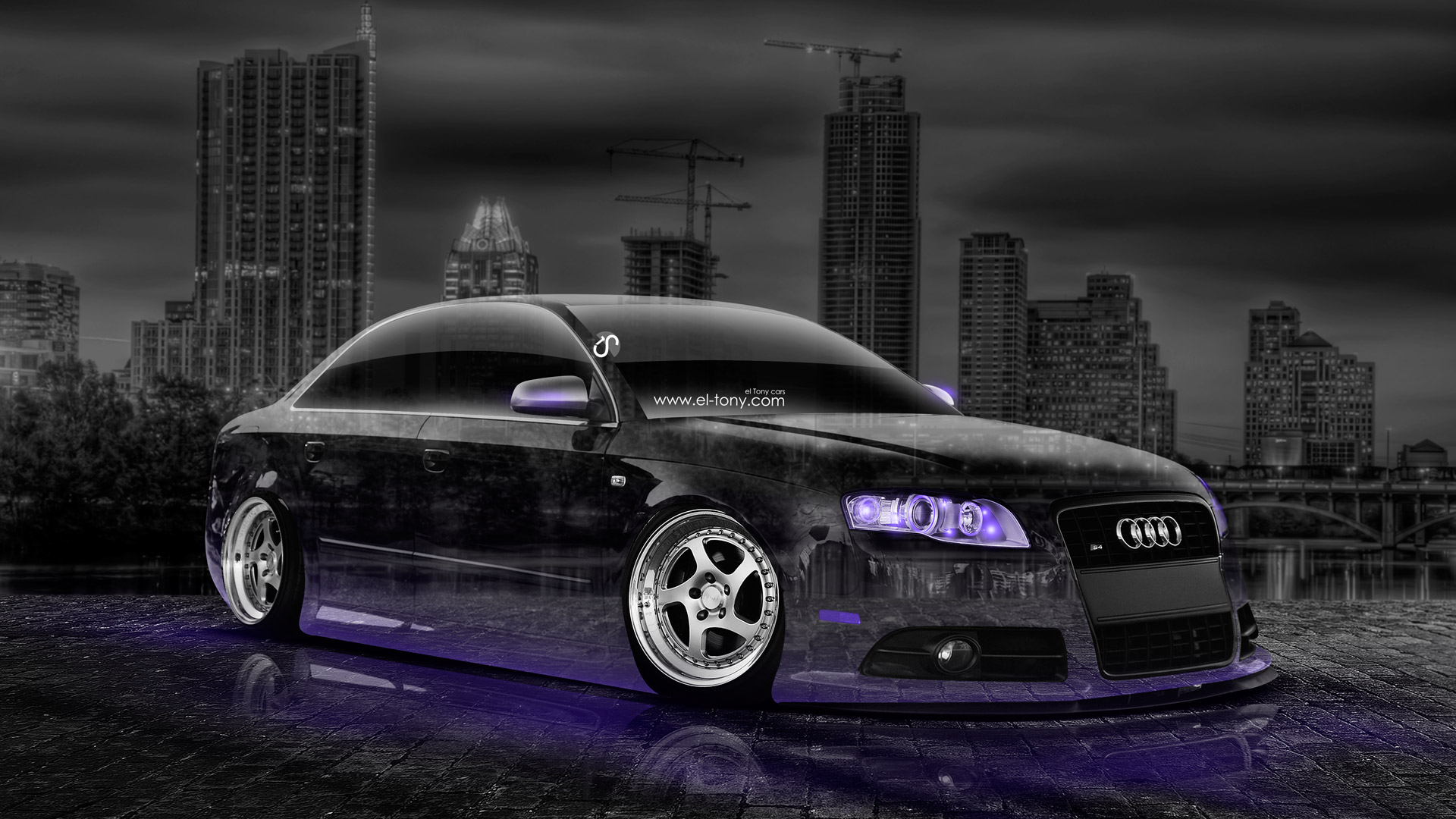 Audi S4 Tuning Crystal City Car 2014 El Tony