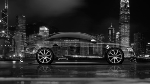 Audi-S8-Biturbo-Tuning-MTM-Side-Crystal-City-Car-2014-Black-White-HD-Wallpapers-design-by-Tony-Kokhan-[www.el-tony.com]
