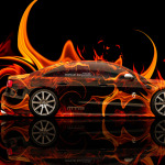 Audi S8 Tuning MTM Side Fire Car 2014