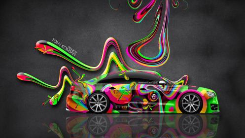 Audi-S8-Biturbo-Tuning-MTM-Side-Super-Plastic-Abstract-Aerography-Car-2014-Multicolors-HD-Wallpapers-design-by-Tony-Kokhan-[www.el-tony.com]