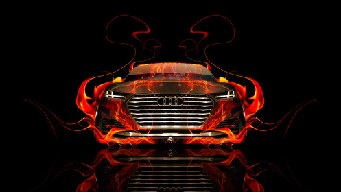 Audi-TT-Offroad-Front-Fire-Abstract-Car-2014-HD-Wallpapers-design-by-Tony-Kokhan-[www.el-tony.com]