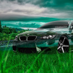 BMW E92 M3 Crystal Nature Car 2014