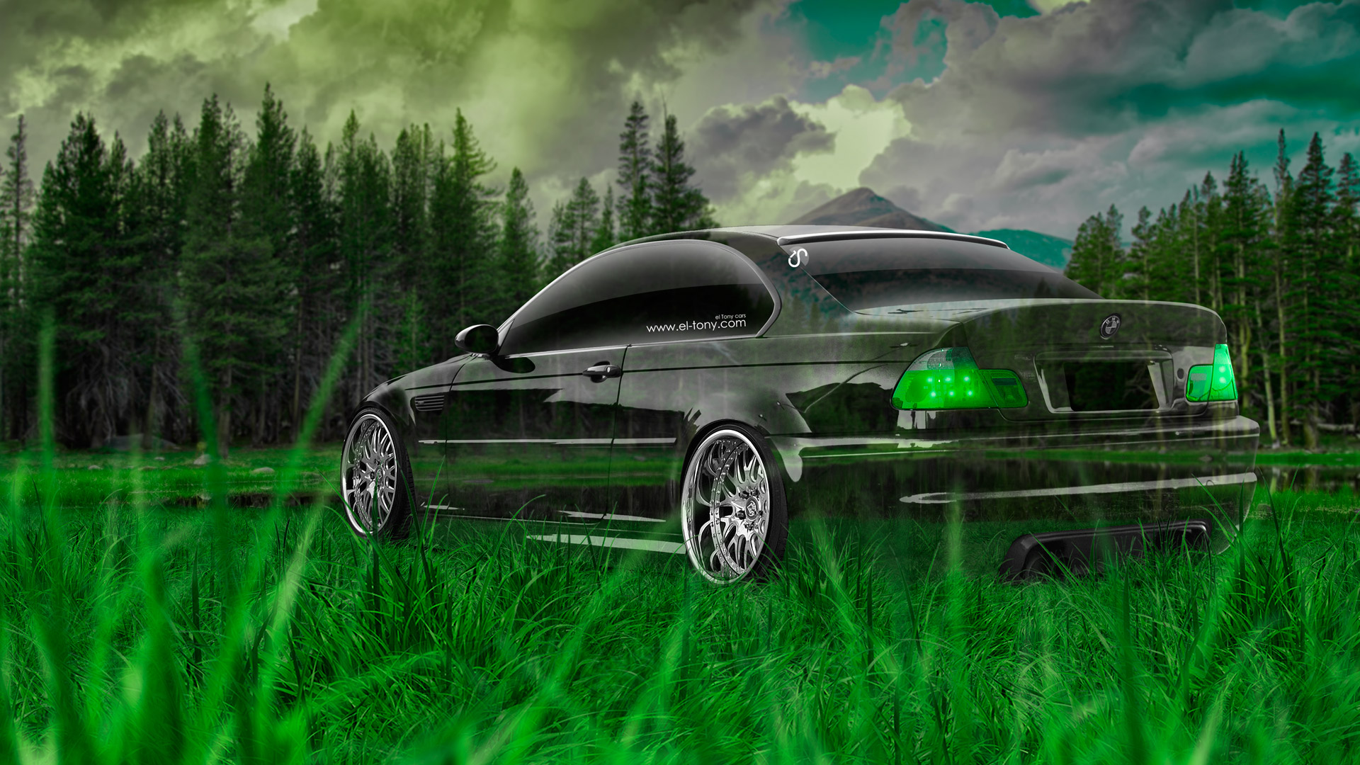 Marvelous BMW M3 E46 Crystal Nature Car 2014 Green