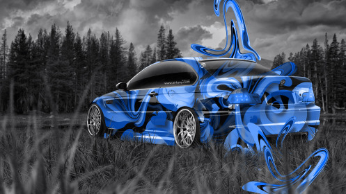 BMW-M3-E46-Nature-Super-Aerography-Car-2014-el-Tony-Art-Blue-Colors-HD-Wallpapers-design-by-Tony-Kokhan-[www.el-tony.com]