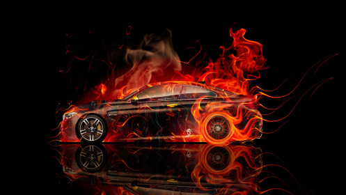 BMW-M4-Coupe-Side-Fire-Abstract-Car-2014-HD-Wallpapers-design-by-Tony-Kokhan-[www.el-tony.com]