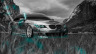 BMW-M5-E60-Tuning-Crystal-Nature-Car-2014-Azure-Neon-HD-Wallpapers-design-by-Tony-Kokhan-[www.el-tony.com]