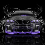 BMW X6 Front Water Car 2014