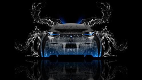 BMW-i8-Back-Water-Car-2014-Blue-Neon-HD-Wallpapers-design-by-Tony-Kokhan-[www.el-tony.com]